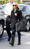Ashley Tisdale candids while walking around in Toluca Lake on January 15th 2010 in California 1