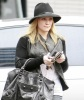Hilary Duff spotted walking the streets of Brentwood on January 20th 2010 as she makes her way to a medical building 1