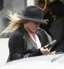 Hilary Duff spotted walking the streets of Brentwood on January 20th 2010 as she makes her way to a medical building 4