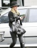 Hilary Duff spotted walking the streets of Brentwood on January 20th 2010 as she makes her way to a medical building 2