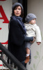 Jessica Alba and her daughter Honor Marie went out shopping on January 20th 2019 while it was raining in Los Angeles 1