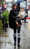 Jessica Alba and her daughter Honor Marie went out shopping on January 20th 2019 while it was raining in Los Angeles 2
