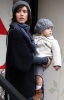 Jessica Alba and her daughter Honor Marie went out shopping on January 20th 2019 while it was raining in Los Angeles 6