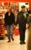 Leonardo DiCaprio and Bar Refaeli go shopping together on January 20th 2010 in Los Angeles 6