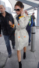 Victoria Beckham was spotted on January 21st 2009 around Londons Heathrow International Airport 1
