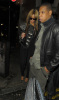 Beyonce and her husband Jay Z seen together after the Hope For Haiti show held at The Hospital venue in Covent Garden on January 22nd 2010 in London 1