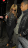 Beyonce and her husband Jay Z seen together after the Hope For Haiti show held at The Hospital venue in Covent Garden on January 22nd 2010 in London 3