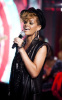 Rihanna performs at the Hope For Haiti Now telethon held on January 22nd 2010 in London