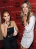 Adrienne Bailon and Alessandra Ambrosio at the launch of the newest fragrance from Victorias Secret Love Rocks on January 21st 2010 in New York City