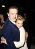 Drew Barrymore photo when she was a teenager hugging David Arquette