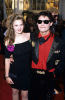 Drew Barrymore photo when she was a teenager with Corey Feldman
