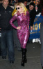 Lady GaGa was spotted arriving at Radio City Music Hall on January 23rd 2010 in new york 1
