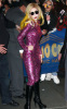 Lady GaGa was spotted arriving at Radio City Music Hall on January 23rd 2010 in new york 2