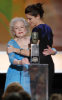 Sandra Bullock and Betty White onstage during the 16th Annual Screen Actors Guild Awards held at the Shrine Auditorium on January 23rd 2010 in Los Angele