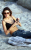 Miranda Kerr picture during a photo session on January 24th 2010 on the beaches of St Barts 2