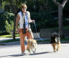Billy Ray Cyrus spotted early on the morning of January 25th 2010 walking his dogs in Studio City 5