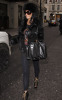 Katie Price spotted exiting a local hotel on January 25th 2010 in Central London 2