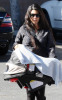 Kourtney Kardashian takes her newborn baby Mason for a doctors check up on January 12th 2010 in Van Nuys 4