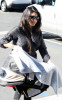 Kourtney Kardashian takes her newborn baby Mason for a doctors check up on January 12th 2010 in Van Nuys 2