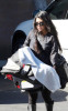 Kourtney Kardashian takes her newborn baby Mason for a doctors check up on January 12th 2010 in Van Nuys 1