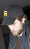 Robert Pattinson spotted growing a beard on January 22nd 2010 while arriving at his hotel in London 3