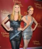 Heidi Klum unveils her wax figure at Madame Tussauds wax museum on January 25th 2010 in Berlin Germany 5