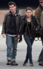 Kristen Stewart was spotted on January 25th 2010 arriving back in Los Angeles from the Sundance Film Festival at Utah 1