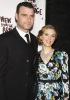 Liev Schreiber and Scarlett Johansson seen together on January 24th 2010 at the after party for the opening night of A View From The Bridge held at Espace in New York City 1