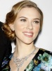 Scarlett Johansson  spotted on January 24th 2010 at the after party for the opening night of A View From The Bridge held at Espace in New York City 3
