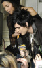 Adam Lambert seen talking to fans during his appearance on Much On Demand at MuchMusic studio on January 25th 2010 in Toronto Canada 3