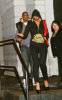 Beyonce Knowles and her husband Jay Z seen together at Nobu restaurant on January 25th 2010 in New York City 1