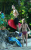 Jude Law and Sienna Miller seen together on December 27th 2009 while enjoying a vacation in Barbados 1