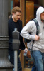 Justin Timberlake picture during the filming of The Social Network on November 30th 2009 in Los Angeles 3