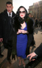 Dita Von Teese attends the Elie Saab Fashion Show on January 27th 2010 during Paris Fashion Week in France 6