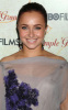 Hayden Panettiere arrives at the HBO premiere of Temple Grandin on January 26th 2010 wearing a stylish light purple colored dress 6