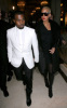 Kanye West and Amber Rose seen together on January 26th 2010 at the Givenchy Haute Couture fashion show in Paris France 3