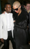 Kanye West and Amber Rose seen together on January 26th 2010 at the Givenchy Haute Couture fashion show in Paris France 4