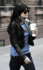 Ashlee Simpson spotted walking her way to the meet n greet candy store on January 27th 2010 in Times Square New York 2