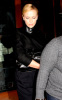 Charlize Theron seen waiting for her car after having dinner at Spago on January 27th 2010 in Beverly Hills 1