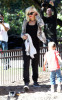 Gwen Stefani seen with her kids Kingston and Zuma on January 28th 2010 at the Coldwater Park in Beverly Hills 3
