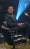 Will Smith picture on December 10th 2009 during an interview on a Norwegian talk show in Olso Norway 1