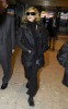 Madonna spotted on January 29th 2010 as she was about to catch a flight from Londons Heathrow Airport to New York City 3
