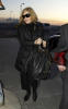 Madonna spotted on January 29th 2010 as she was about to catch a flight from Londons Heathrow Airport to New York City 1