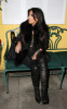 Kim Kardashian seen arriving at the Dan Tanas restaurant on January 27th 2010 wearing a fur black vest 4
