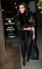 Kim Kardashian seen arriving at the Dan Tanas restaurant on January 27th 2010 wearing a fur black vest 2