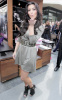 Kim Kardashian arrives at ShoeDazzle on January 29th 2010 at the Westfield Century City Shopping Mall wearing a cute silver dress 10