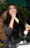 Kim Kardashian seen arriving at the Dan Tanas restaurant on January 27th 2010 wearing a fur black vest 8