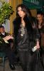 Kim Kardashian seen arriving at the Dan Tanas restaurant on January 27th 2010 wearing a fur black vest 6