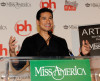 Mario Lopez speaks during a news conference for the 2010 Miss America Pageant at the Planet Hollywood Resort and Casino January 29th 2010 in Las Vegas Nevada 5