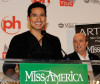 Mario Lopez speaks during a news conference for the 2010 Miss America Pageant at the Planet Hollywood Resort and Casino January 29th 2010 in Las Vegas Nevada 4